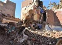 انهيار منزل في أبوقرقاص دون وقوع خسائر بشرية