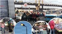 العشوائية تسكن كوبري غمرة.. موقف ميكروباص وسوق شعبي أمام «المترو»|صور
