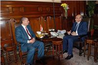 وزير الزراعة يبحث مع محافظ كفر الشيخ تحقيق تنمية زراعية شاملة