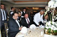 صور| الخطيب والعامري فاروق في زفاف هاني عز الدين