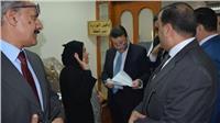 نائب وزير المالية يتفقد مأموريات الضرائب بموسم تقديم الإقرارات