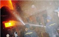 السيطرة على حريق هائل شب بمخزن خردة في قليوب