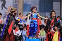 صور| أشرف عبدالباقي يستعد لافتتاح «مسرح مصر للأطفال»