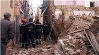 مصرع وإصابة 4 أشخاص في انهيار منزل بالأسكندرية بسبب الأمطار