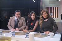 صور| ساندى مع ريتا وإدوارد في «القاهرة اليوم»