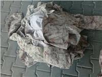 جمارك سفاجا تحبط محاولتين لتهريب ملابس عسكرية وبندقية
