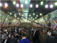 أهالي مصر القديمة يؤيدون الرئيس السيسي في مؤتمر حاشد |صور