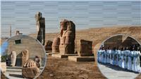 «صان الحجر» و«تل بسطة» تنفضان غبار الإهمال والحكومة تمنحهما قبلة الحياة