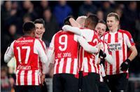فيديو| أيندهوفن يفوز بثلاثيه على أوتريخت وينفرد بصدارة الدوري الهولندي