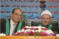 «المفتي» يترأس لجنة مناقشة رسالة دكتوراة بـ «آداب المنوفية»