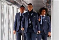 رونالدو ينشر صورة مع مارسيلو وكاسيميرو خلال رحلة باريس