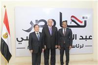 سفيرا الصين وسنغافورة يزوران مقر الحملة الانتخابية الرسمية لـ«السيسي»