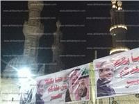 صور.. الحسين يتزين لاستقبال ولي العهد السعودي لافتتاح تجديدات الجامع الأزهر