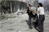 المرصد السوري: 30 حالة اختناق بعد قصف جوي على الغوطة الشرقية