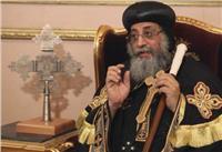 «البابا تواضروس» يشكر محافظ سوهاج لحضوره جنازة أسقف طما