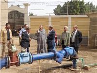 قوافل لدراسة تصميم الآبار وتخزين المياه بجامعة المنوفية