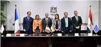 مصر وفرنسا توقعان 4 اتفاقيات بقيمة 60 مليون يورو