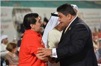 للمرة الثانية.. الأسطورة «مارادونا» يدعم الأولمبياد الخاص