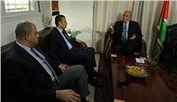 الوفد الأمني المصري يجتمع مع نائب رئيس الوزراء الفلسطيني