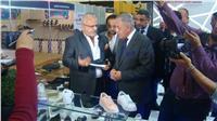 افتتاح المعرض الدولي الثاني عشر للجلود بمركز القاهرة للمؤتمرات