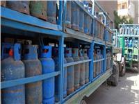 ضخ 2440 طنا من المواد البترولية وطرح 56 ألف اسطوانة غاز بالغربية