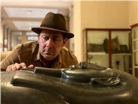 بالصور.. أحمد شاكر يروج للسياحة من المتحف المصري