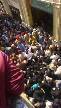 بالصور| تشييع جنازة شهيد قليوب خلال العملية الشاملة سيناء 2018