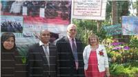 «التربية والتعليم» تشارك بمعرض حديقة الأورمان للزهور..«صور»