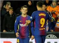 «برشلونة» يتقدم بهدفين نظيفين على «مالاجا» في الشوط الأول