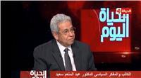 عبد المنعم سعيد: قطاع التشييد في عهد «السيسي» شهد طفرة كبيرة
