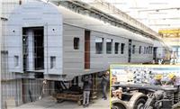 «سيماف».. هنا قلعة صناعة عربات القطارات في الشرق الأوسط |صور