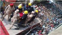 """جنازة عسكرية وشعبية في """" ميت إشنا"""" بالدقهلية لشهيد سيناء"""