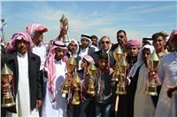 محافظ الإسماعيلية يشهد مراسم ختام مهرجان سباقات الهجن