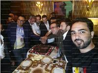 بالصور| صابر الرباعي يحتفل بعيد ميلاده بالقاهرة بحضور أهل الفن