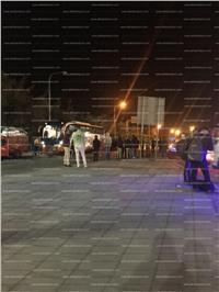 صور | غلق نفق الشهيد أحمد حمدي أمام الأتوبيسات السياحية