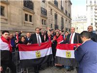 إقبال المصريين على التصويت في العواصم الأوروبية  صور