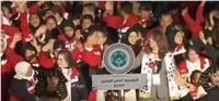 غادة والي تقود طابور عرض بعثة الأولمبياد الخاص في أبو ظبي