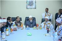 شيخ الأزهر يصل موريتانيا ويستهل زيارته بـ«مجلس الإفتاء»