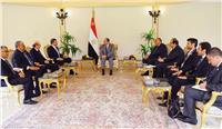 السيسي : ضرورة التصدي بحزم لمخاطر الأمن القومي العربي