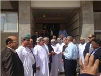 وزير إسكان سلطنة عمان يزور العاصمة الإدارية الجديدة