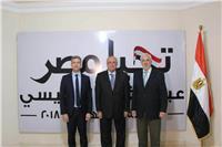 سفيرا قبرص واليونان يزوران مقر الحملة الرسمية لـ«السيسي»