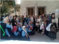صور| «التضامن» تنظم زيارة لأندية «أنرويل» بالجيزة