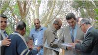 افتتاح معرض الزهور الأول بـ«زراعة المنيا»