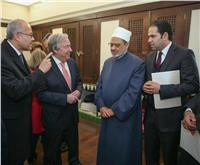 مستشار شيخ الأزهر يكشف كواليس لقاء الطيب وأمين عام الأمم المتحدة في «لشبونة»