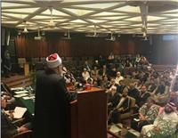 مفتي الجمهورية: العلماء واجبهم استعادة الصورة الحقيقية للإسلام من قوى الإرهاب