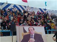 انطلاق مؤتمر «حراس الحدود يشاركون في اختيار الرئيس» بمطروح