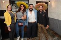 صور| نرمين ماهر وياسمين الخطيب تشاركان بحفل أحد المطاعم