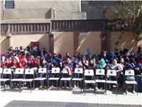 التعليم تُقيم احتفالية بمدرسة القاضي شرف الدين الثانوية المهنية بنات
