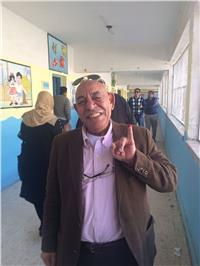عبدالله جورج يدلي بصوته في الانتخابات الرئاسية