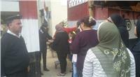 مصر تنتخب| بالصور حضور مكثف للشرطة النسائية بالمطرية